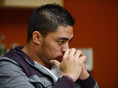 For the first time since the story of his fake girlfriend broke, Manti Te'o spoke about the hoax and denied any role, aside from falling for it. Foto: ESPN