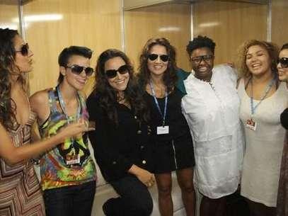 Liah Soares, Maria Cristina, Ellen Oléria, Luana Mallet e Alma Thomas são convidadas de Ana Carolina Foto: Divulgação