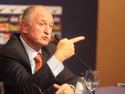 Luiz Felipe Scolari recusou comentar sobre jogadores que ficaram fora da lista de convocação Foto: Mowa Press / Divulgação