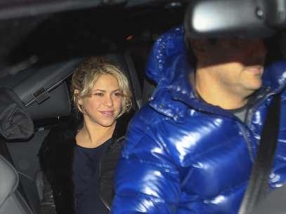 Shakira chega à clínica para dar à luz seu primeiro filho Foto: The Grosby Group