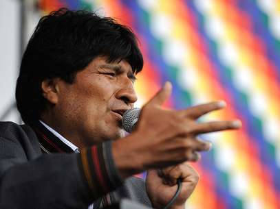 El presidente de Bolivia as lo asegur este martes durante el comienzo de la presentacin de un informe al Congreso, coincidiendo con el inicio de su octavo ao de gobierno. Foto: AFP