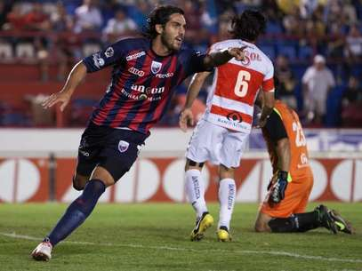 Joaquin Larrivey scored twice for Atlante. Foto: Mexsport