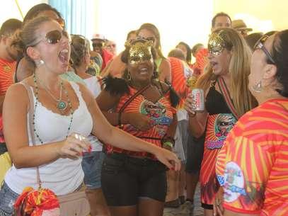 Nem o calor de 34° espantou o público doBerbigão do Boca, na região central de Florianópolis Foto: Fabricio Escandiuzzi / Especial para Terra