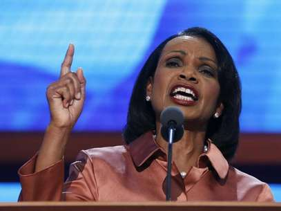 Former Secretary of State Condoleezza Rice speaks during the third session of the Republican National Convention in Tampa, Florida August 29, 2012. Foto: Eric Thayer / Reuters