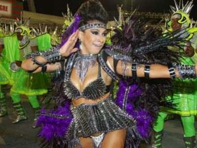 A Mocidade Alegre é a atual campeã do Carnaval Foto: Futura Press