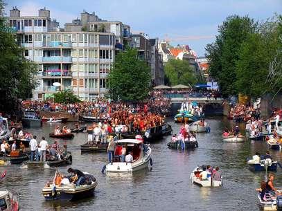 Amsterdãé conhecidacomo a capital gay e lésbica da Europa Foto: Amsterdam Mediabank / Divulgação