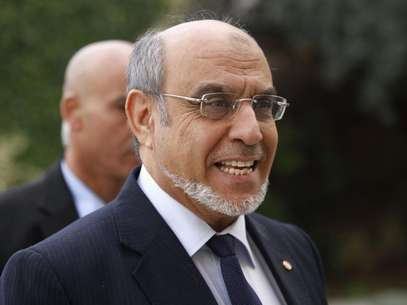Tunisian Prime Minister Hamadi Jebali he arrives for a round of consultations with other political parties at the Carthage Palace in Tunis, February 15, 2013. Foto: Anis Mili / Reuters