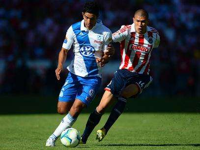 Puebla and Chivas could not decide a winner on the field. Foto: Mexsport