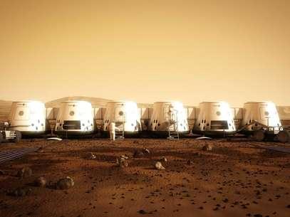 Organização Mars One quer colonizar o planeta vermelho com dinheiro de reality show Foto: AFP