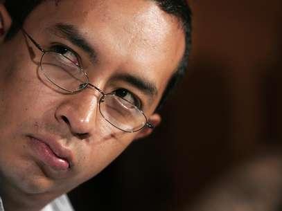 Joaquín Aguilar acusó en 2006 al cardenal mexicano Norberto Rivera de encubrir al sacerdote pederasta Nicolás Aguilar Rivera. Foto: Archivo / AP