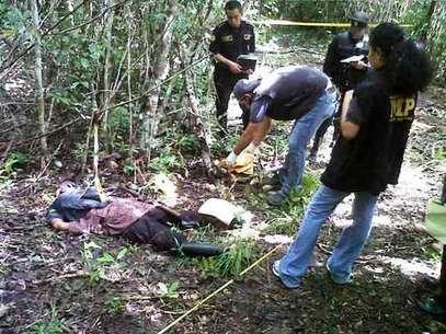 """Supuesta foto de """"El Chapo"""" Guzmán abatido"""