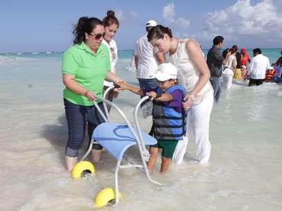 Se encuentra en Playa del Carmen y busca replicar este modelo en sitios como Laguna de Bacalar, Cancún, Cozumel, Isla Mujeres y Majahual. Foto: DIF Quintana Roo