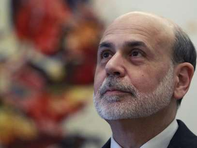 Federal Reserve Chairman Ben Bernanke waits before a meeting of the G20 Finance Ministers in Moscow February 15, 2013. Foto: Sergei Karpukhin / Reuters