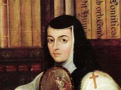Sor Juana Inés de la Cruz fue una escritora y poeta mexicana y es considerada la Décima Musa Foto: A media voz