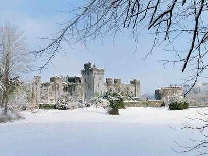 O castelo de Ashford possui83 quartos e um spa de luxo Foto: Divulgação