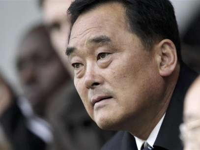 So Se Pyong, North Korea's ambassador to the U.N. in Geneva, addresses the Conference on Disarmament at the United Nations in Geneva February 27, 2013. North Korea accused the United States on Wednesday of contributing to an &quot;unpredictable&quot; situation on the divided Korean peninsula and abusing its power in the U.N. Security Council to impose its &quot;hostile policy&quot; against Pyongyang. Foto: Denis Balibouse / Reuters