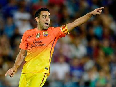 Xavi Hernandez is fit again and projected to be in the starting lineup for Barcelona against Milan. Foto: Mexsport