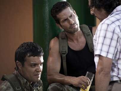 'Los tres caínes' es protagonizada por Julián Román, Gregorio Pernía y Elkin Díaz. Foto: RCN