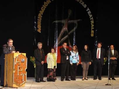 La ceremonia fue dedicada en memoria a los fallecidos actores Julio Alemán, Joaquín Cordero y Carmen Montejo. Foto: Notimex
