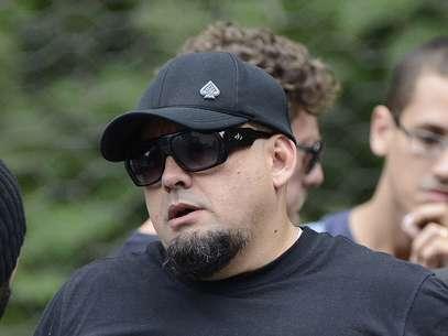 Digão, vocalista do Raimundos, esteve presente Foto: Ricardo Matsukawa / Terra