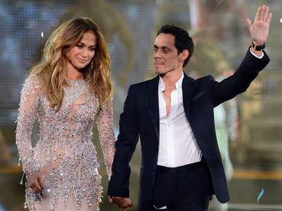 JLo y Marc Anthony compiten con sus nuevos amores Foto: Getty Images