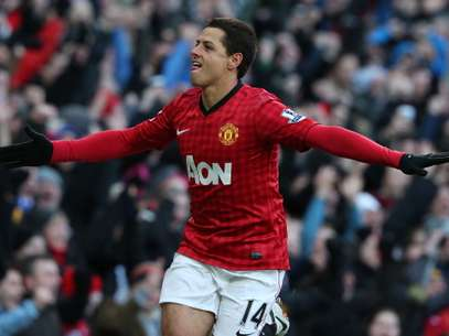 Chicharito mar´co su cuarto gol en esta edición de la FA Cup. Foto: Getty Images