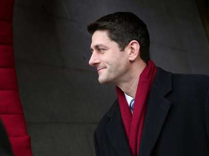 U.S. Rep. Paul Ryan (R-WI) arrives for the Barack Obama second presidential inauguration on the West Front of the U.S. Capitol January 21, 2013 in Washington. Foto: Win McNamee-POOL / Reuters