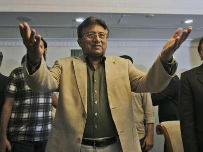 El ex presidente paquistaní Pervez Musharraf en Dubai, Emiratos Arabes Unidos, este sábado Foto: Kamran Jebreili / AP