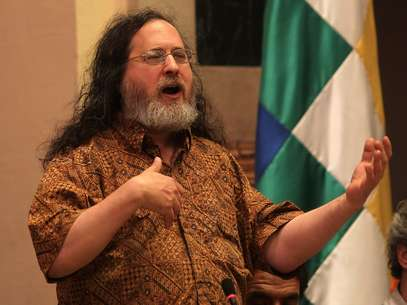 El fundador del movimiento del Software Libre, Richard Stallman. Foto: EFE en español