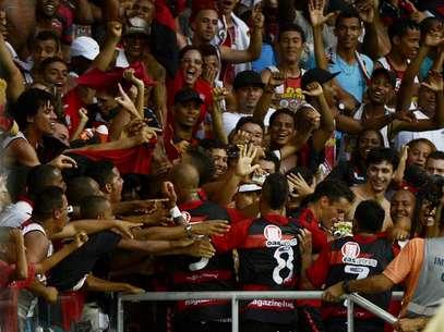 Torcida do Vitória dominou a festa na Fonte Nova Foto: Ricardo Matsukawa / Terra
