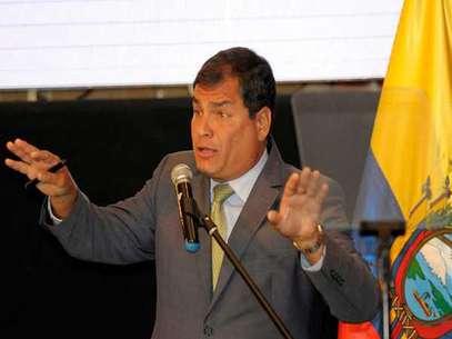 El presidente de Ecuador le contestó a Laura Bozzo mediante su Twitter. Foto: EFE en español