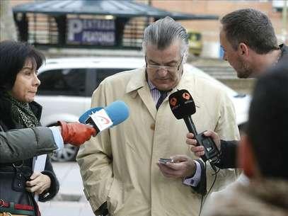 Bárcenas, en una de sus comparecencias ante los juzgados. Foto: Agencia EFE / © EFE 2013