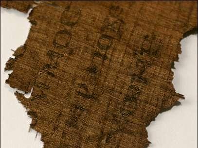 Texto apócrifo afirma que apóstolo não traiu Cristo; autenticidade da tinta foi comprovada Foto: AP