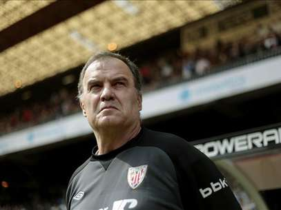 Marcelo Bielsa, tcnico del Athletic. Foto: Agencia EFE /  EFE 2013. Est expresamente prohibida la redistribucin y la redifusin de todo o parte de los contenidos de los servicios de Efe, sin previo y expreso consentimiento de la Agencia EFE S.A.