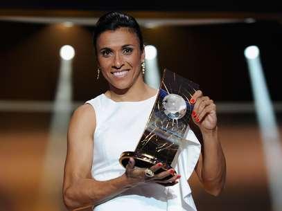 Marta pode ser eleita a melhor do mundo pela sexta vez na carreira Foto: Getty Images