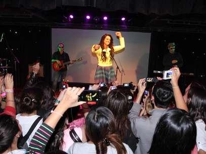 Isabella deslumbró a niños y adultos en Buenos Aires Foto: Gentileza Warner Music