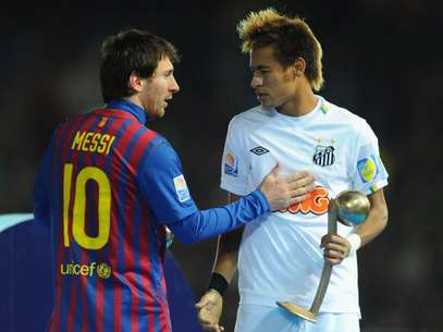 Messi y Neymar. Foto: Getty Images