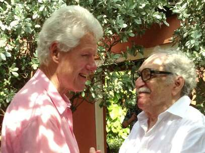 Bill Clinto y Gabriel Garca Mrquez Foto: @BillClinton