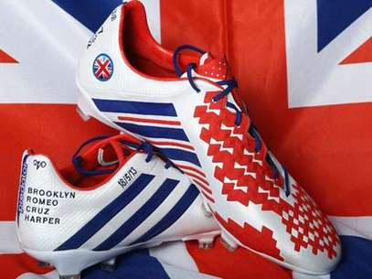Beckham will use these boots in his last professional game.  Foto: Courtesy Adidas