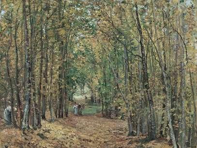 Camille Pissarro, 'El bosque de Marly' Foto: Museo Thyssen