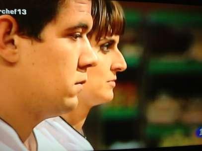 Juan Manuel y Eva, tras la segunda prueba y a la espera de la decisión del jurado. Foto: RTVE