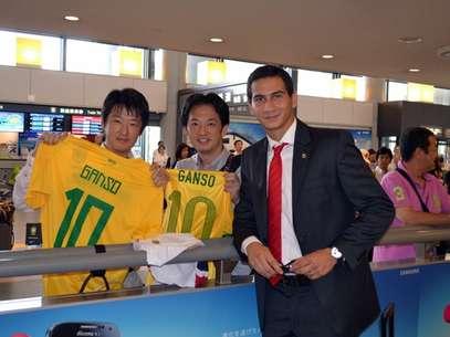 Equipe tricolor está no Japão para tentar conquistar novo título na excursão Foto: Divulgação