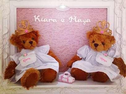Natália Guimarães deu à luzMaya e Kiara na quinta-feira (8) Foto: Reprodução/Instagram