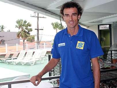 Emanuel é o único atleta que jogou todas as edições do Circuito Brasileiro Foto: Felipe Held / Terra