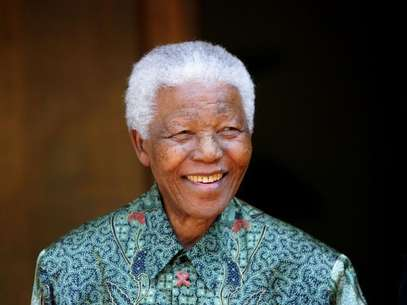 Foto de arquivo do ex-presidente da África do Sul, Nelson Mandela Foto: Mike Hutchings / Reuters