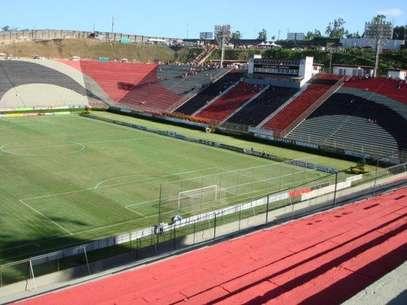Barradão receberá melhorias no campo e nos vestiários Foto: Divulgação
