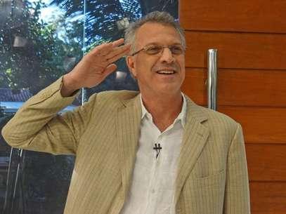 Pedro Bial divilgou o BBB14 Foto: TV Globo / Divulgação