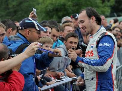 Kubica atualmente compete em categoria de rali  Foto: Getty Images