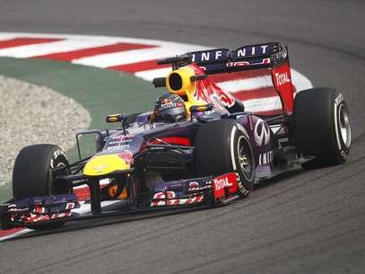 Sebastian Vettel voltou a dominar treinona Índia Foto: Reuters