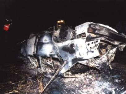 Cantor João Paulo morreu em um acidente com sua BMW 328i em 1997  Foto: Divulgação